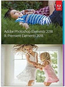 ADOBE PHOTOSHOP ELEMENTS 2018 & PREMIER ELEMENTS 2018