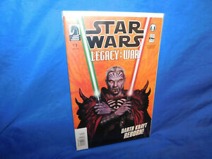 Star Wars Legacy War Darth Krayt Reborn VF/NM 1st App of 2nd Darth Wyyrlock