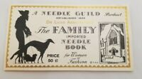 """Vintage Needle Guild Product """"The Family Imported Needle Book"""""""