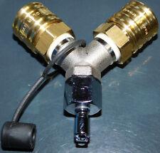 Mares,. auf Luft Gr DN 7,2 Toolbeutel Messing-Adapter Inflatorschlauch TUSA