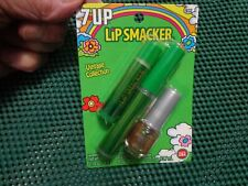 Lot of 2 Lip Smacker 7 Up Vintage Collection Trio Lip Gloss- Balm- Nail Polish