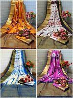 saree indian sari designer Party Wear silk wedding party new Pakistani Bollywood