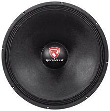 Rockville RVW1800P4 1800w 18' Raw DJ Subwoofer 4 Ohm Sub Woofer 240OZ Magnet