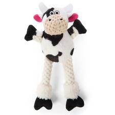 GoDog Plush Squeaker Long Leg Skinny COW Dog Toy JUST FOR ME