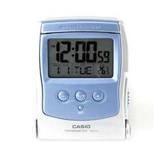NEW CASIO PQ65-2D TRAVEL Alarm Clock Thermometer LED Light PQ-65 USA Seller