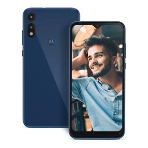 Brand New (Sealed and SIM Included) Motorola Moto E (2020) 32gb Blue Metro Lock
