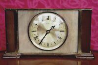 Vintage 'Metamec' Quartz Battery Powered Table Clock