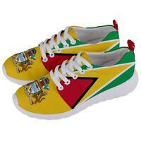 GUYANA Guyanese Coat of arms Flag Men/Women Running Sneaker Shoes GYS