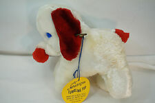 VINTAGE WIND UP TOY ELEPHANT TRUNK SWAYS MOVES PLUSH COMMONWEALTH MUSICAL