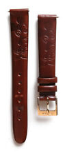 Disney Full Body Mickey Mouse leather embossed 14mm replacement watchband D-107