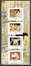 FRANCE 2020 Collector Adhesive pets rabbit lapin pig MNH** Luxe