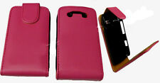 For Blackberry Bold 9790 Onyx 3 Bellagio Flip Carry Case Cover Pouch Pink New UK