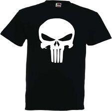 THE PUNISHER Herren T-Shirt Kult Film TOTENKOPF Skull Castle Saint Action
