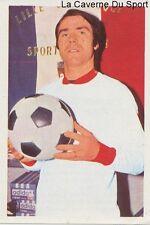N°062 EDMOND BARAFFE # LILLE.OSC LOSC STICKER AGEDUCATIF FOOTBALL MATCH 1973