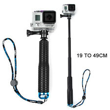 GoPro Monopod Handheld Extendable Selfie Stick HERO HD 4 / 3+ / 3 / 2 / 1 Black