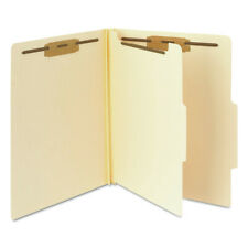 Smead 13700 Manila Classification Folders With 25 Right Tab 4 Section New