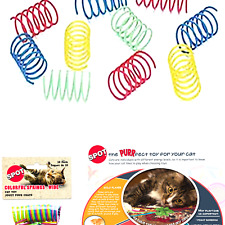 New listing Ethical Wide Colorful Springs Cat Toy