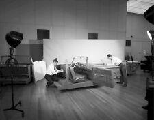 1950s Ford Design Studio staff designing interiors  8 x 10 Photograph