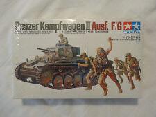 Sealed TAMIYA 3509 Panzer Kampfwagen II Ausf. F/G -1/35 WWII Model Kit  SERIES 9