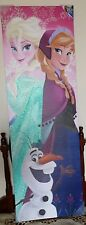 NEW Disney Frozen Anna, Elsa, Olaf Canvas Wall Art Multicolor for your Girl room