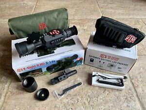 ATN X-SIGHT II HD 3-14X Smart Day/Night Riflescope & Extended Battery Life Pack