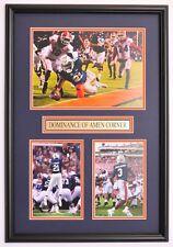 Auburn Football Framed Prints - Tigers Knock Off #1 Georgia and Alabama
