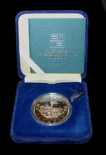 1989 Macau Macao 100 Patacas Year of the Snake Silver Proof Coin