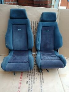 ford escort mk4  rs turbo front recaro seats and subframes X2.  & 8 x seat bolts