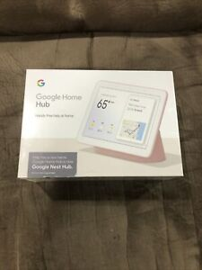 NEW GOOGLE HOME NEST HUB SAND GA00517-US Pink Factory Sealed