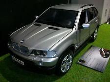 BMW X5 4.4i gris au 1/18 KYOSHO boutiq 80439411687 voiture miniature collection