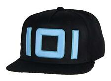 Authentic READY PLAYER ONE Blue Glow In The Dark Thread Snapback Hat NEW