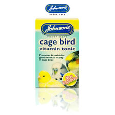 Johnsons Cage Bird Vitamin Tonic Health & Vitality; Budgie, Finch, Cockatiel