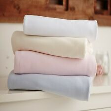 CL3028B Cot Cotton Jersey Fitted Sheets (pack of 2 Blue) by Clair De Lune