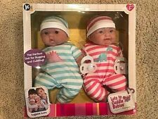 New In Box Jc Toys Lots to Cuddle Babies, 13-Inch Baby Soft Doll Body Twins