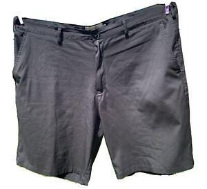 Mens Black Woodworm Golfing Shorts 42w