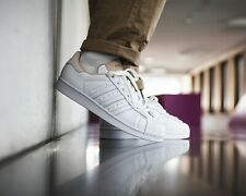 ❤ BNWB & Authentic Adidas originals ® Superstar White Leather Trainers UK Size 7