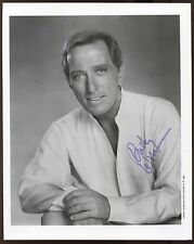 Andy Williams  Signed 8x10 Photo Vintage Autographed from 1992 AUTO
