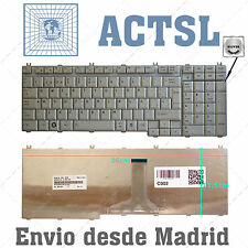 TECLADO TOSHIBA SATELLITE L500 MP-06876E0-6984 PK130731A19 COLOR PLATA