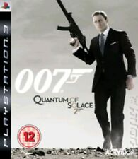 007 Quantum of Solace PS3 PlayStation 3 Game disc with cover art unboxed
