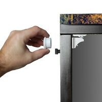 Invisible Adhesive Magnetic Cabinet Locks | Baby Proofing Cabinets & Drawers