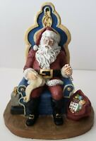Vintage Collectible The Classic American Modern Santa Circa 1990 Limited Edition