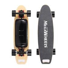 Dual Hub Motorized Electric Longboard Scooter 800W Maple Deck Skateboard BLACK
