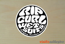 PEGATINA STICKER VINILO Rip Curl Wet Suits surf autocollant aufkleber adesivi