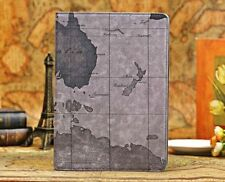 Retro Map Leather Smart Case Stand Cover For Apple iPad Mini 2/3/4/5 Air pro