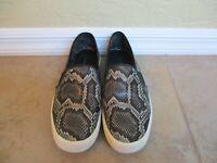 Vince Snakeskin Sneakers (Faux)  For Women Size 8.5 M Eur 38.5