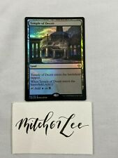 MTG Magic The Gathering - FOIL Temple of Deceit - Theros: Beyond Death