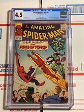 Amazing Spider-Man #17 CGC 4.5 (Marvel Comics 1964) 2nd app of the GREEN GOBLIN