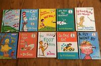Lot of 10 Hardcover Childrens Books: P.D. Eastman, Theo LeSieg, Dr. Seuss