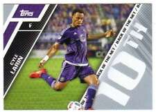 2017 Topps MLS Soccer Back of the Net #BOTN-10 Cyle Larin Orlando City