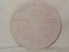 Frankoma Pottery Bi-Centennial Celebration Plate- Victory For Independence- 1975